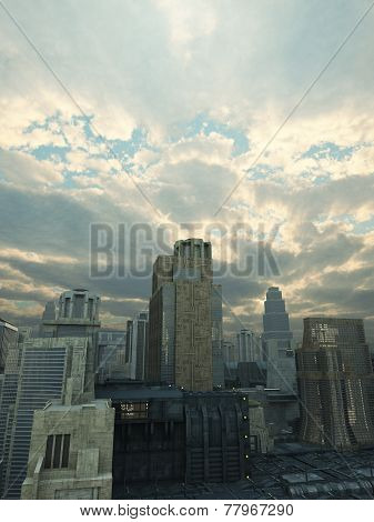 Future City After the Storm