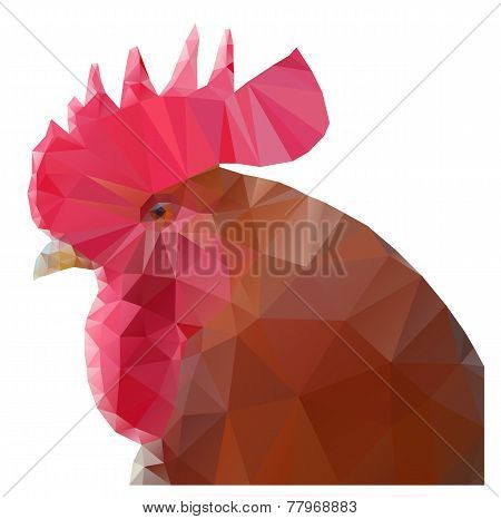 triangular rooster