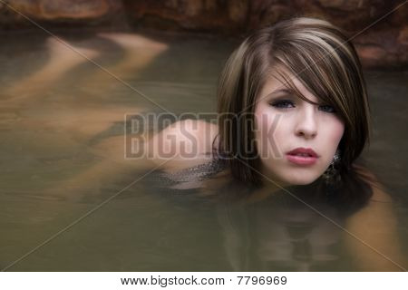 Womans Body In Water