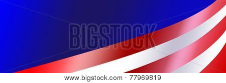 Patriotic Bumper Sticker Background
