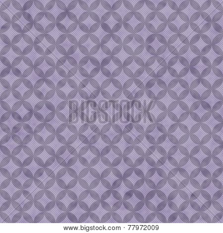 Purple Interconnected Circles Tiles Pattern Repeat Background
