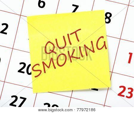 Quit Smoking Resolution