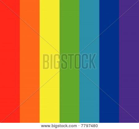 principal fundo de cores do arco-íris de sete