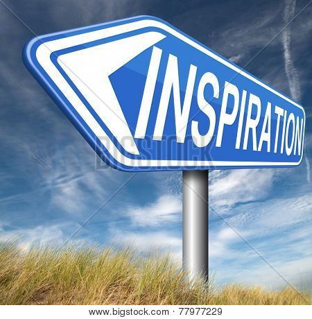 inspiration getting inspired be creative create and invent brainstorm and inspire with text and word inspirations