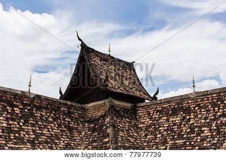Thai Old Roof Church