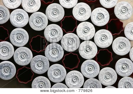 used shotgun shells