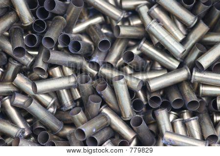used handgun shells