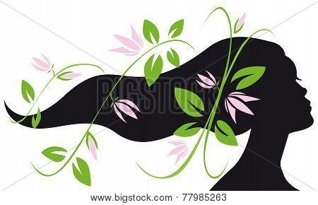 Woman Silhouette Profile