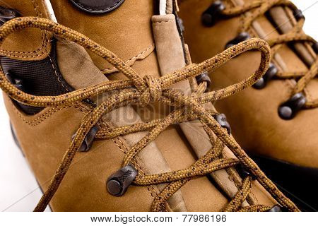 Detail Of Walking Boots