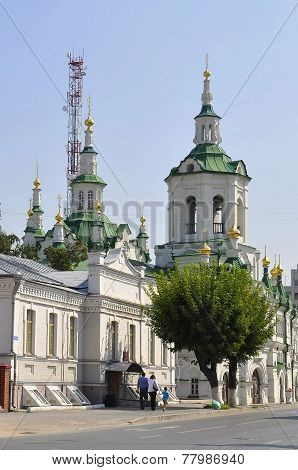Church Of The Saviour. Tyumen.