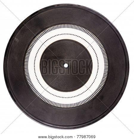Vintage Rubber Turntable Platter Mat
