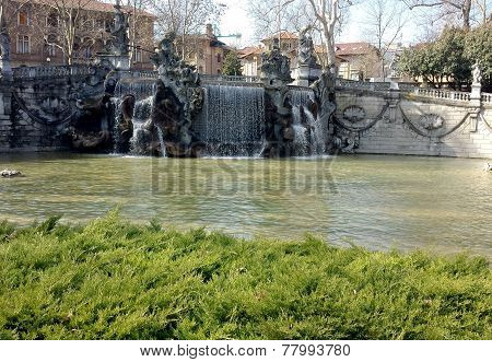 Fountain of the Twelve Months, Turin, Italy