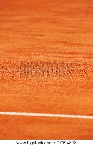Tennis Clay Court Detail
