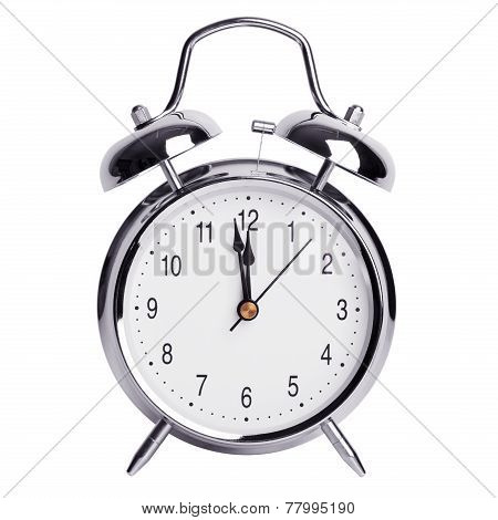 Twelve Hours On An Alarm Clock