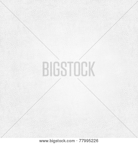 Perspective illustration and closeup view to abstract canvas of empty light gray and white natural clean gauze texture for business background with sparse threads and clear space for your own text.