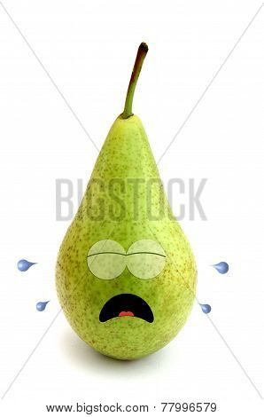 Crying pear