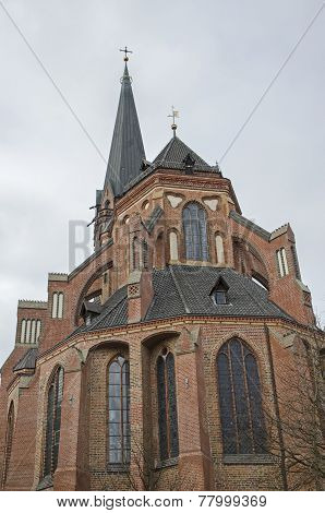 St. Nicholas Church. Luneburg, Germany