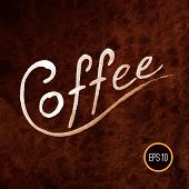 Постер, плакат: Coffee illustration coffee design coffee art coffee poster C