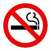 image of non-toxic  - No smoking sign - JPG
