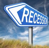 image of stock market crash  - recession crisis bank and stock crash economic and financial bank recession market crash    - JPG