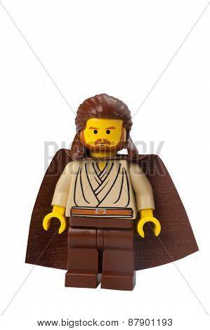 Qui-gon Jinn Lego Minifigure