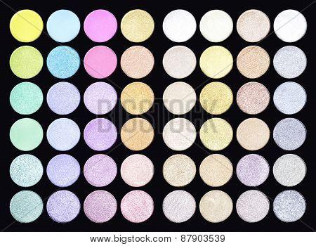 Set Make Up Pallet Background