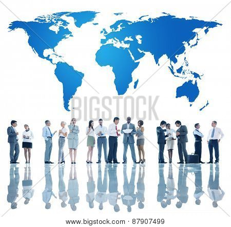 World Global Business Concept