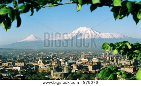 Armenia.Yerevan.Mountain Ararat.