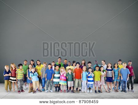 Children Kids Happiness Cheerful Childhood Youth Concept