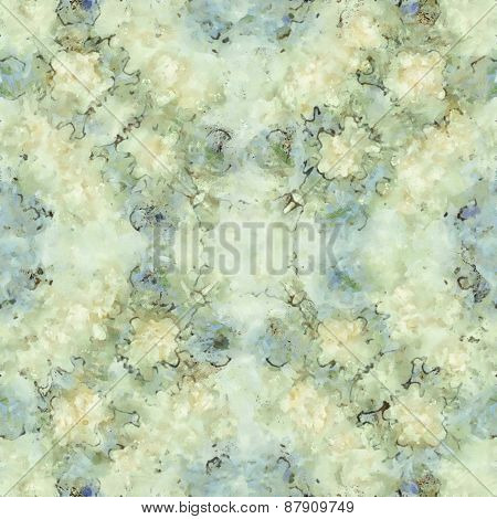Abstract marbled paper seamless pattern