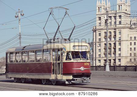 Retro Tram.