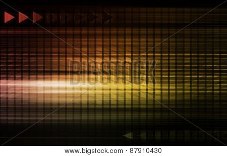 Engineering Abstract and Industrial System as Art background