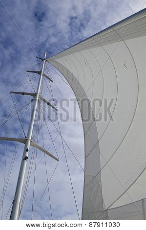 Main Sail In The Wind