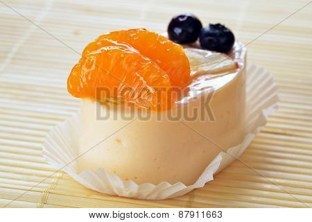Cake With Tangerines