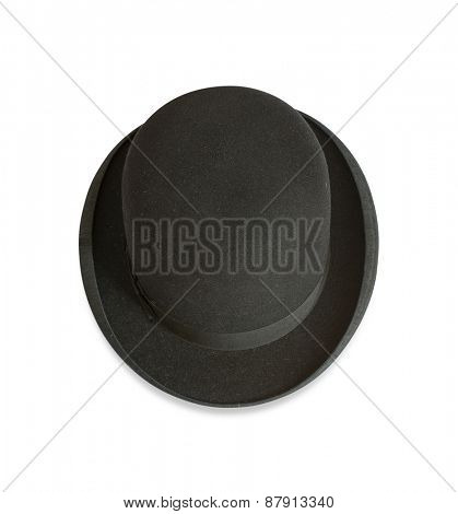 Bowler hat from above