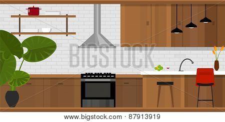 kitchen interior furniture house interior