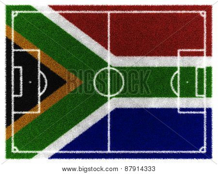South Africa Football Field