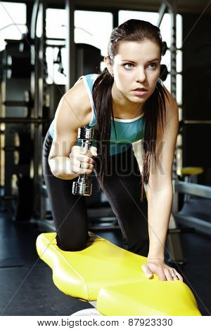 Young Woman In Modern Fitness