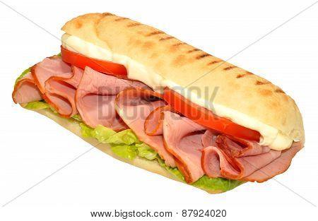 Smoked Ham Sandwich