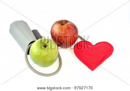 Apples And Heart