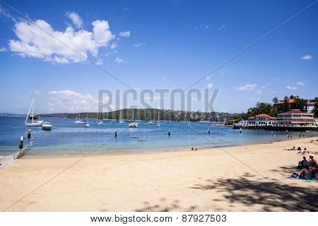 Manly Beach In Sydney Australia