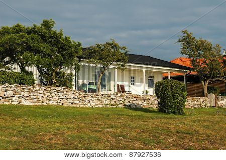 Cottage On Oland Island, Sweden
