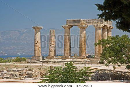 Temple of Apollos, Corinth, Greece