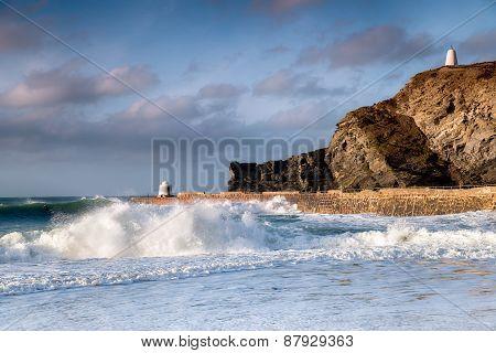Portreath On The Cornwall Coast