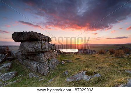 Tregarrick Tor On Bodmin Moor