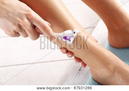 Goals woman legs