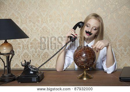 Business Woman Looks Like A Businessman