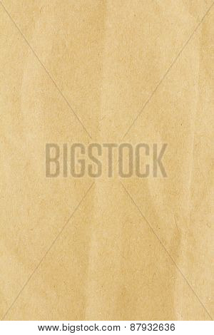 Cardboard Sheet Of Paper. Background From Paper Texture. High Resolution
