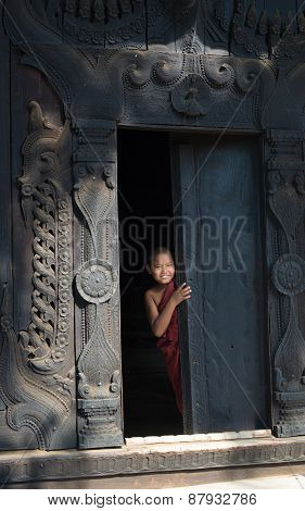 Young Novice In Mandalay?