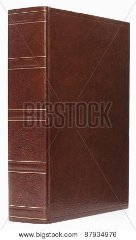 Leather thick book